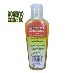 Clear All Dark Knuckles Clear And Dark Spot Remover Oil.