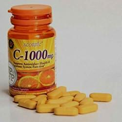 Vitamin C Ascorbic 1000mg  30 Capsules